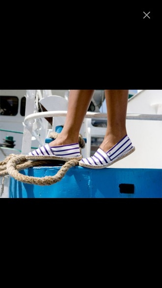 shoes flats slips sailor designer shoes striped shoes cute shoes boat shoes adorable shoes must have shoes white shoes anchor shoes
