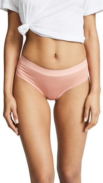 bikini cotton light pink light pink swimwear