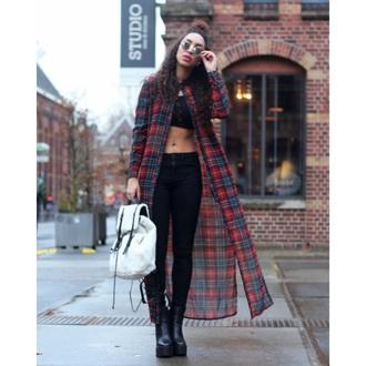 shirt plaid style flannel fashion love jeans grunge