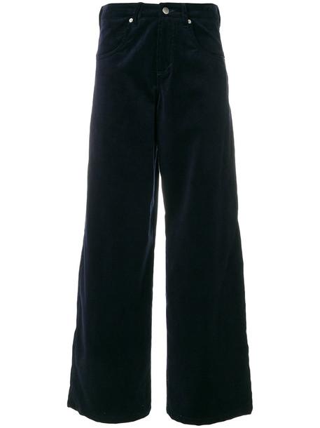 Société Anonyme women cotton blue pants