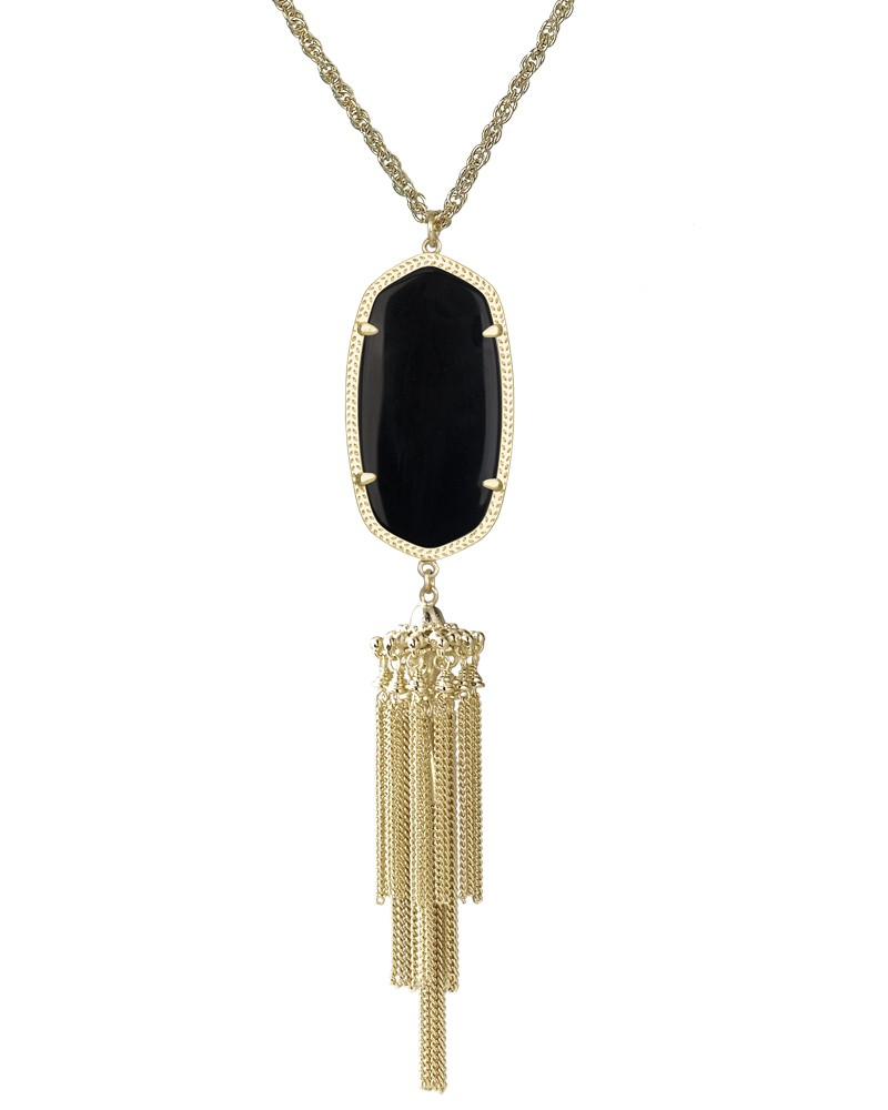 Rayne Necklace in Black - Kendra Scott Jewelry