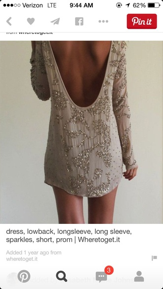 dress long sleeves long sleeve dress new year's eve sparkly dress