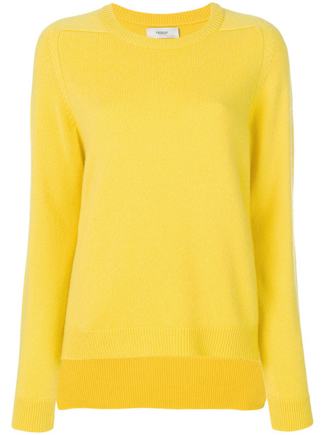 PRINGLE OF SCOTLAND sweater women yellow orange