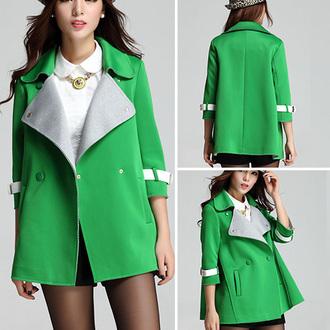 cool coat popular fashion beautiful girl new classy clothes top jumpsuit noble and elegant beauty preppy women cardigan woolen coat winter coat warm coats