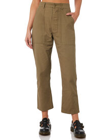 Thrills Womens Troop Pant - Army Green | SurfStitch
