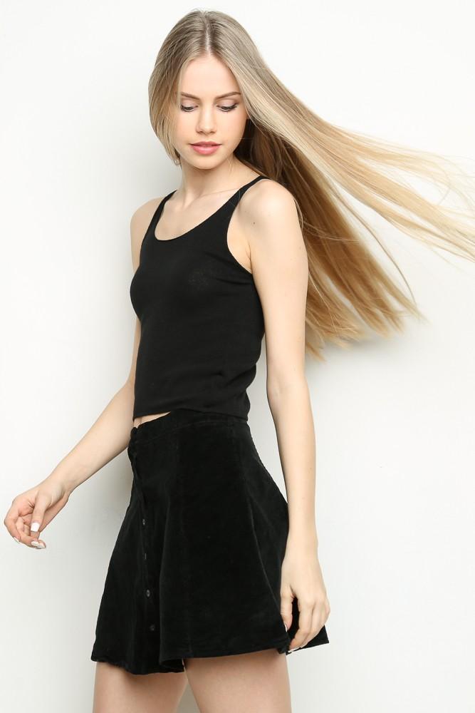 Brya corduroy skirt