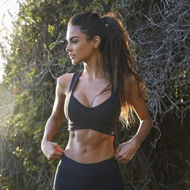 fc7220a81d4c9 top, sports bra, black, athletic, sports bra, gym bunny, gym clothes ...