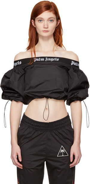 Palm Angels blouse black top