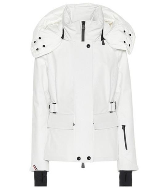 Moncler Grenoble Entova down ski jacket in white