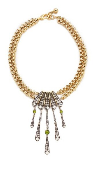 necklace gold silver jewels