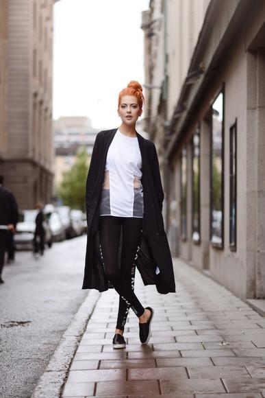 tights blogger shoes bag top ebba zingmark