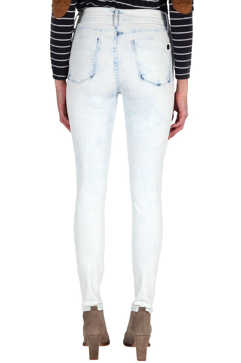 High waisted jegging in never say never: buy black orchid at couturecandy.com