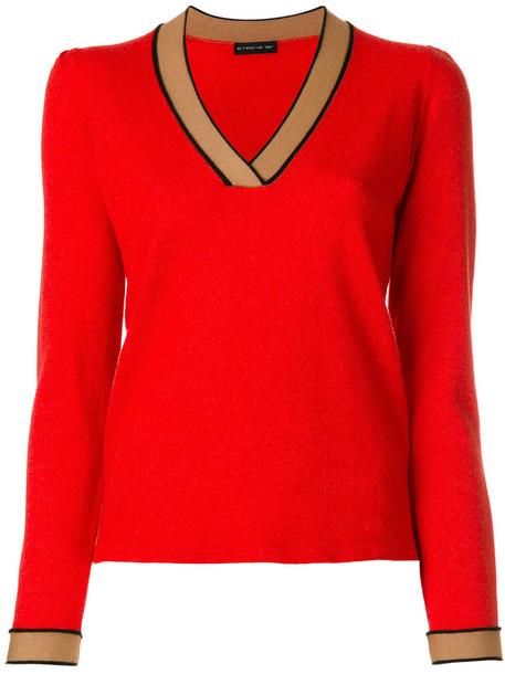 jumper women silk wool yellow orange sweater