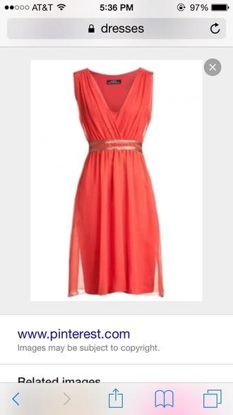dress coral