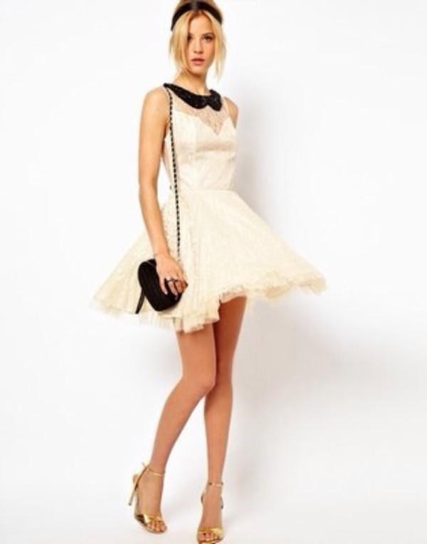 dress asos whrite dress
