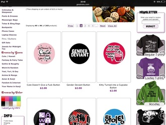bag buttons kawaii i dont give a fuck cute pink