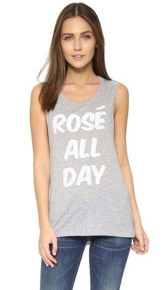 rose grey top
