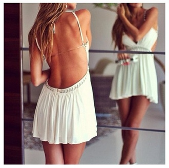 dress white sexy backless white dress sexy dress backless dress
