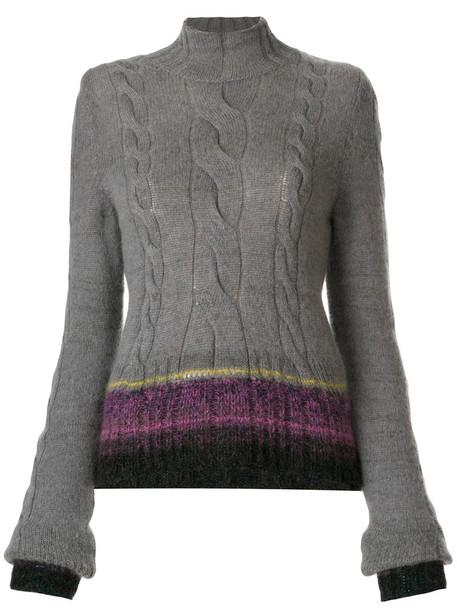 A.F.VANDEVORST jumper women knit grey sweater