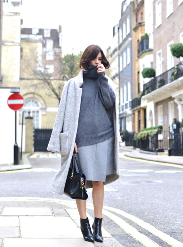 northern light skirt sweater coat shoes bag