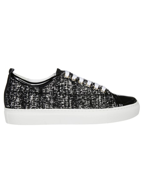 lanvin sneakers black shoes
