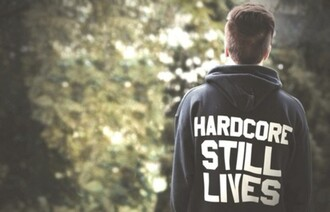 sweater hardcore hardcore still lives black boy white black and white