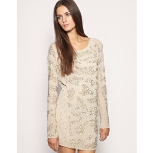 All saints poison mini silk dress