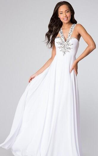 dress white prom dress blue gold prom dress backless prom dress bckless dress turquoise aqua hi lo high low hi lo dress