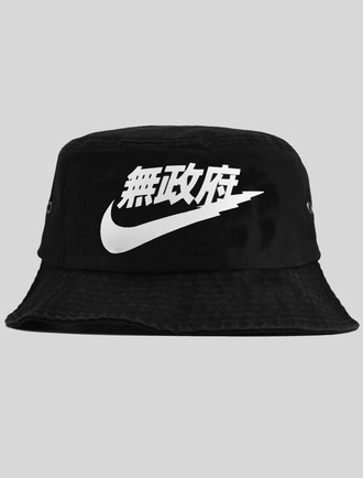 hat bucket hat street nike streetstyle soft ghetto