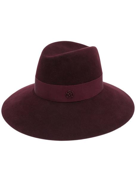 fedora purple pink hat