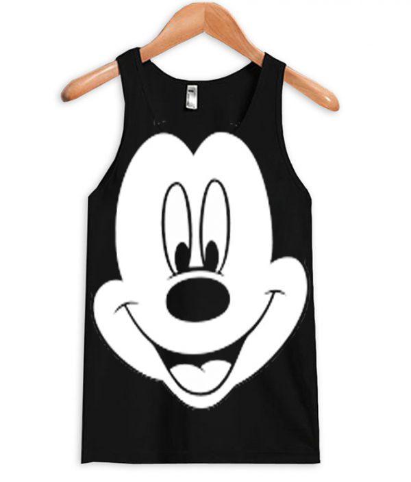 0cb6b3491ddfa2 Mickey Mouse Face Tanktop