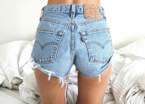 Sale sweet & simple vintage levis high waist shorts from knee deep denim on storenvy