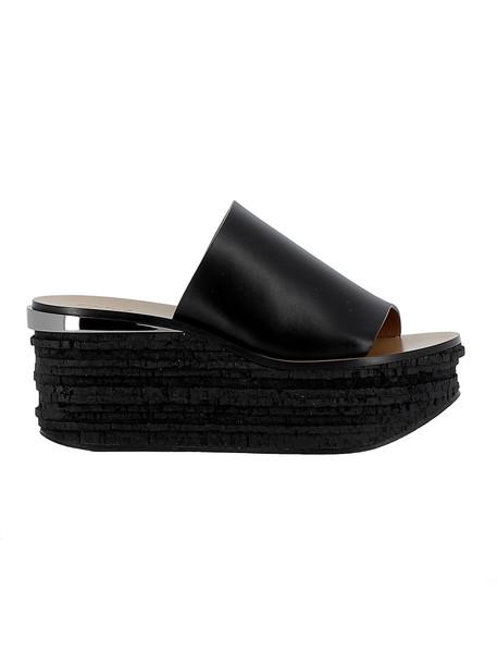 wedges leather wedges leather black black leather shoes