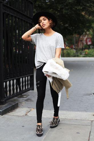 trop rouge blogger jacket top jeans