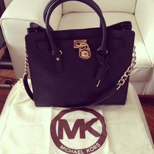 bag black michael kors bag