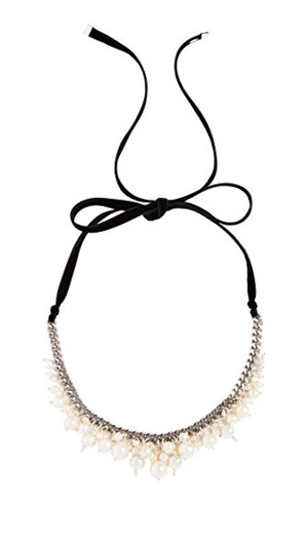 Chan Luu pearl necklace cream jewels