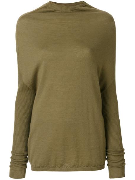 Rick Owens - crater knit top - women - Cashmere - S, Nude/Neutrals, Cashmere