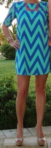dress,zigzag,tunic,bright