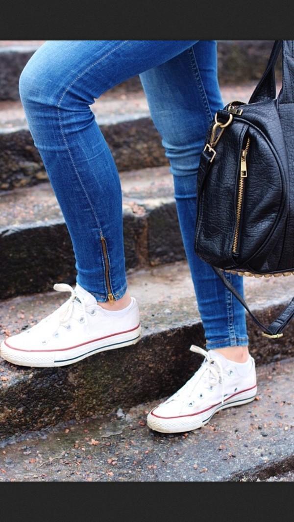 jeans blue zip denim