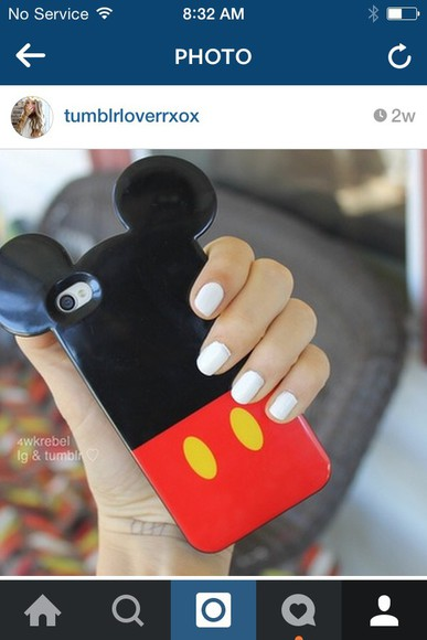 phone case iphone case phone mickey mouse phone case