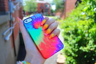 jewels summer iphone iphone case tie dye iphone cover phone cover