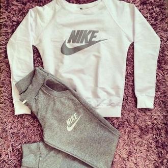 pants grey nike grey sweatpants nike sweatpants long sleeves