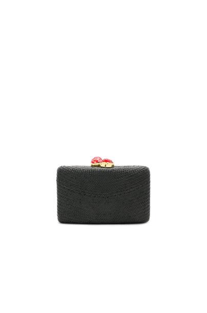 KAYU clutch black bag