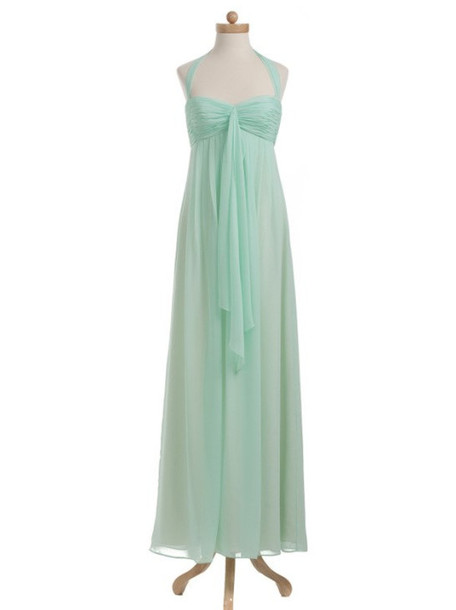 Maternity Halter Prom Dress