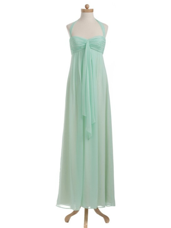 mint green bridesmaid dresses mint dress maternity dress mint prom dress halter prom dress long chiffon bridesmaid dresses