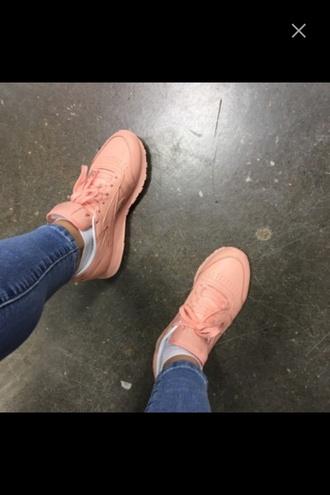shoes pink reebok