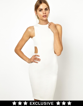 Solace london lazark cut out mini dress at asos