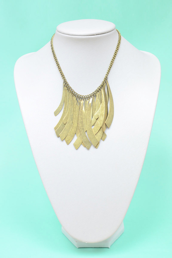 Ladies Ona Layered Drop Necklace | Pop Couture