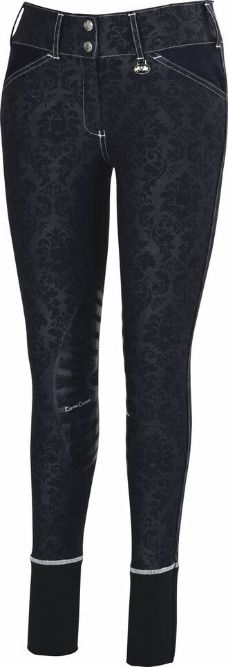 pants floral black riding breeches western english horse