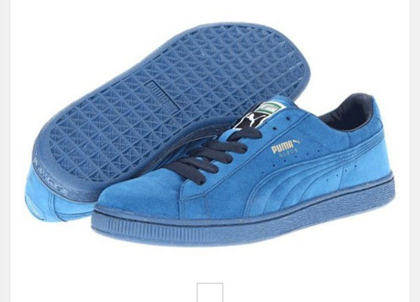shoes midnight blue puma suede women s sneakers low top sneakers suede  sneakers 6251092525